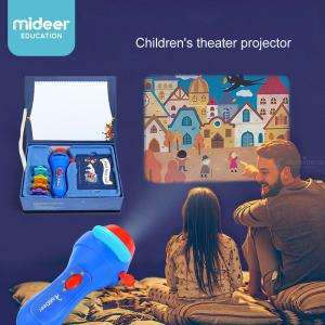 Creative Toy Projector Learning Storytelling Flashlight For Children 4 Stories 32 Images