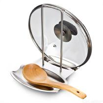 Stainless-Steel-Pan-Pot-Rack-Cover-Lid-Rest-Stand-Spoon-Holder-Home-Applicance-For-Kitchen-Accessories