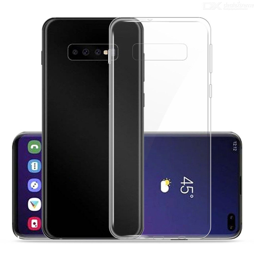 Ultra-Thin Protective TPU Back Phone Cases for Samsung S10 Plus