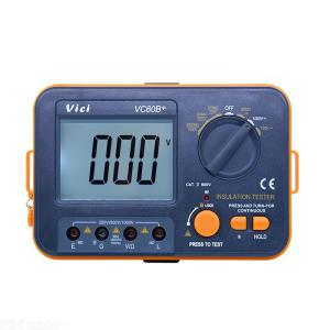 VICI VC60B + Digitaler Isolationswiderstandstester LCD 1000V Megger Isolation 0-2000M Ohm Hochspannungseingangskurzschlussalarm