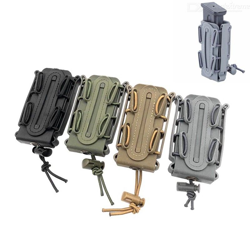 Outdoor Tactical Equipment Were 9 MM Cartridge Box Type Soft Shell Cartridge Can Wear Belt Button The Molle Fittings Box