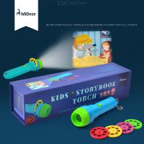 Kids-Storybook-Flashlight-Learning-Toy-Torch-4-Stories-32-Images