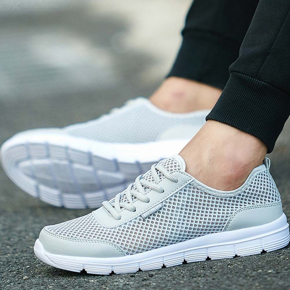 Lightweight Mesh Sneakers Breathable Running Shoes Summer Footwear For Couples
