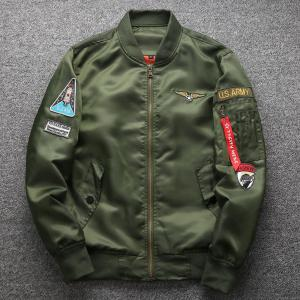 Thick And Thin Coats Military Motorcycle Aviator Pilot Air Men Bomber Jacket