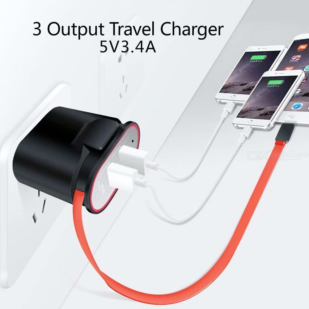 Dual usb with