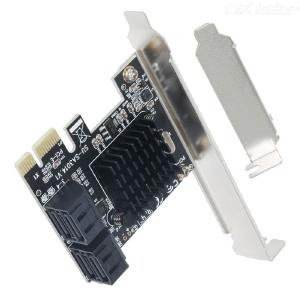 PCIE to SATA Card PCI-E Adapter PCI Express to SATA3.0 Expansion Card 4 Port SATA III 6G for SSD HDD IPFS Mining