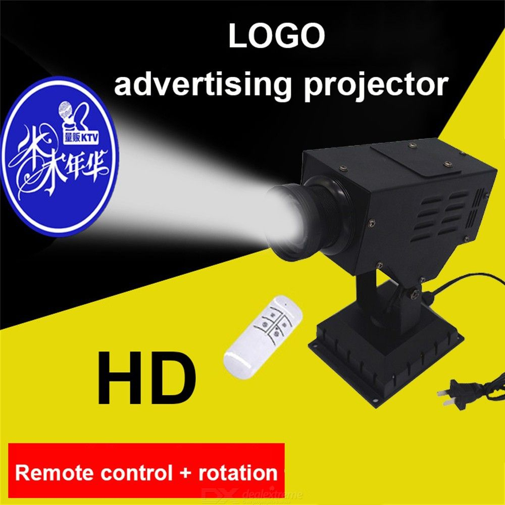 Laser-LOGO-Light-30W-Rotating-Projection-Light-With-Remote-Control