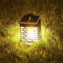 Solar-Path-Light-072W-LED-Candle-Lantern-Outdoor-Decorative-Lamp