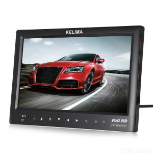 KELIMA 7 Inch Car Monitors 2 Way Desktop Touch Button MP5 Display Bluetooth Car Display Support TF USB