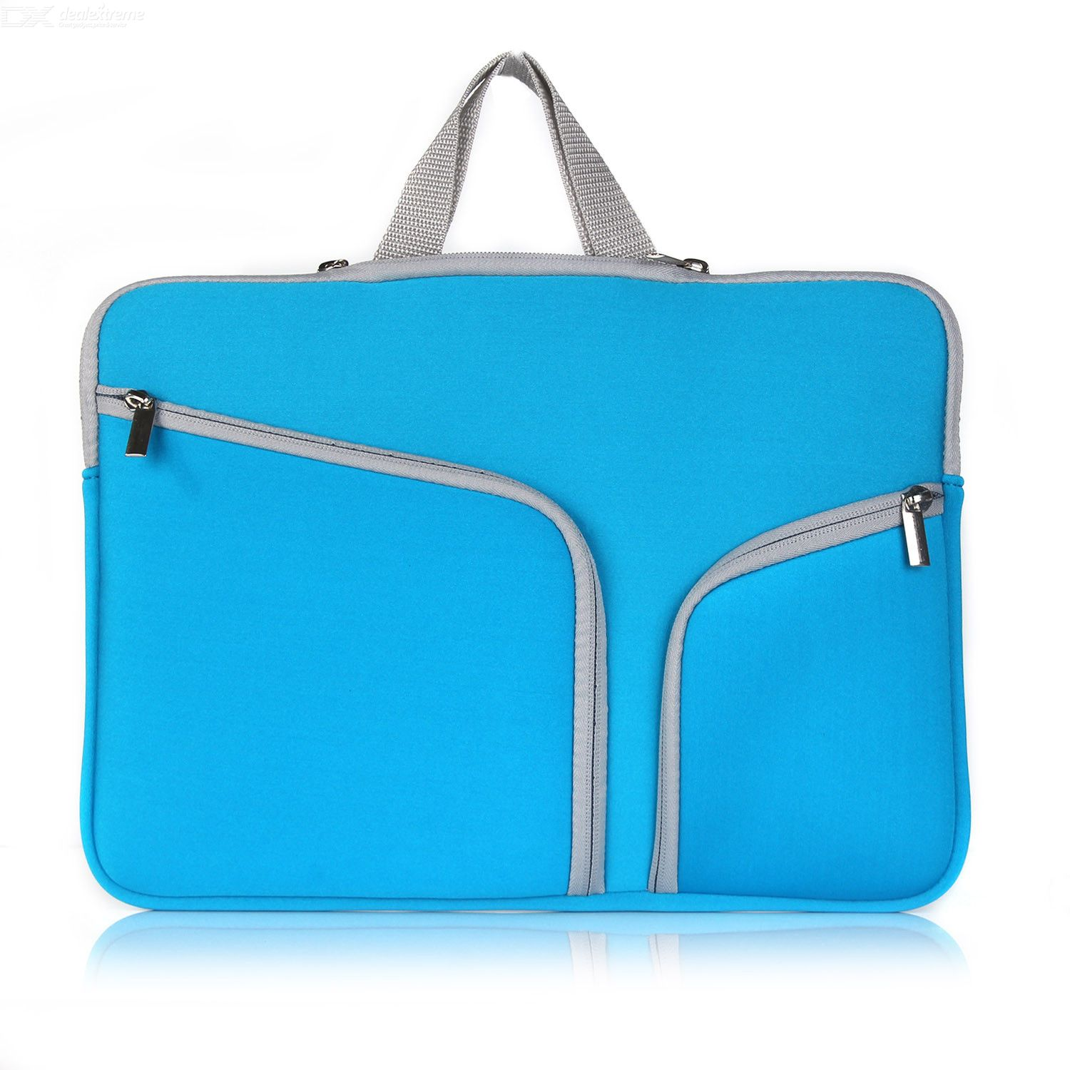 Dayspirit-Double-Zipper-Laptop-Sleeve-Bag-Case-For-Macbook-Air-116