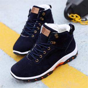 Winter Shoes Plush Warm Boots Anti Skidding Men Boots