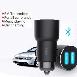 ROIDMI 3S Bluetooth Car Charger MP3 Music FM Player For IPHONE Android APP Smart Control 5V 3.4A