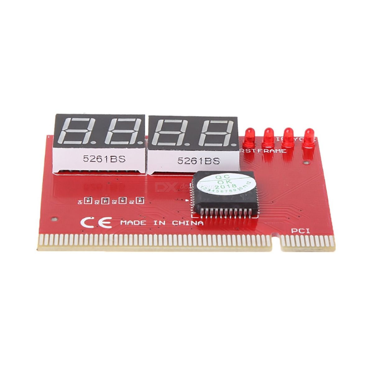 Kitbon 4-Digit PC Mainboard PCI POST Diagnostic Analyzer Test Card