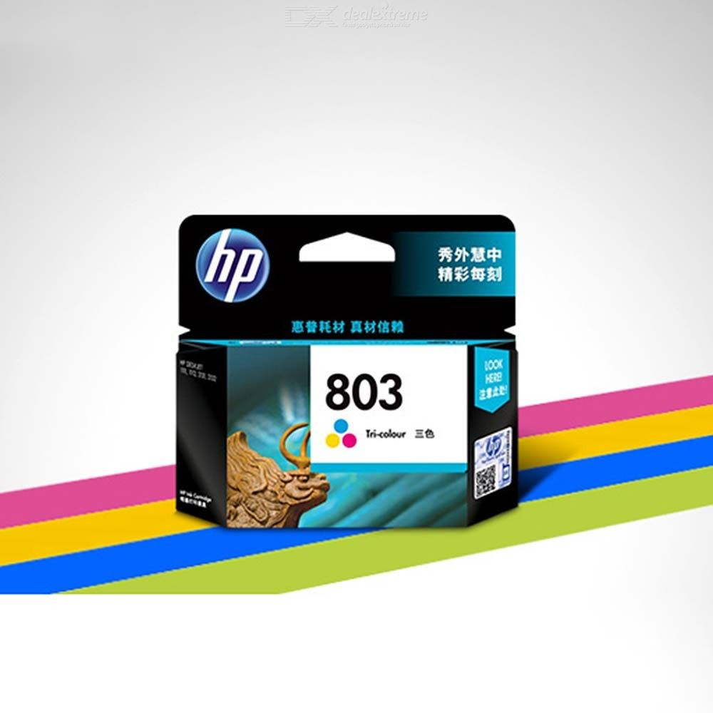 Ink Cartridge Replacement For HP 803 190 Pages Per Black 165 Per Tri-color Cartridge