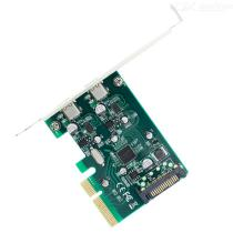 2-Ports-USB-31-Type-C-PCI-Express-Controller-Add-On-Card-Bracket-Super-Speed-10Gbps-PCI-E-4X-to-USB-C-Adapter