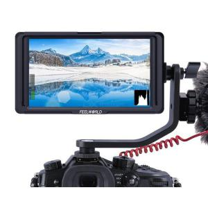 FEELWORLD F5 5 Inch DSLR Camera Field Monitor IPS Full HD 1920x1080 Support 4K HDMI Input Output Tilt Arm Power