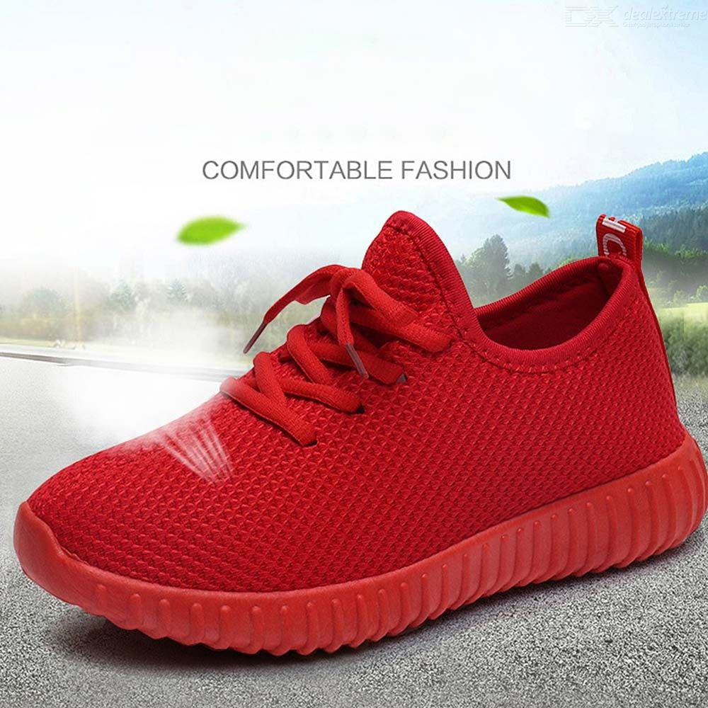 Spring Autumn Women Casual Shoes Comfortable Cotton Fabric Lace-Up Breathable Platform Sneakers