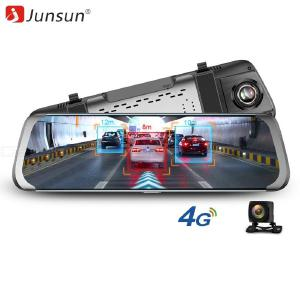 Junsun 4G Android Car DVR ADAS HD 1080P Car Mirror Video