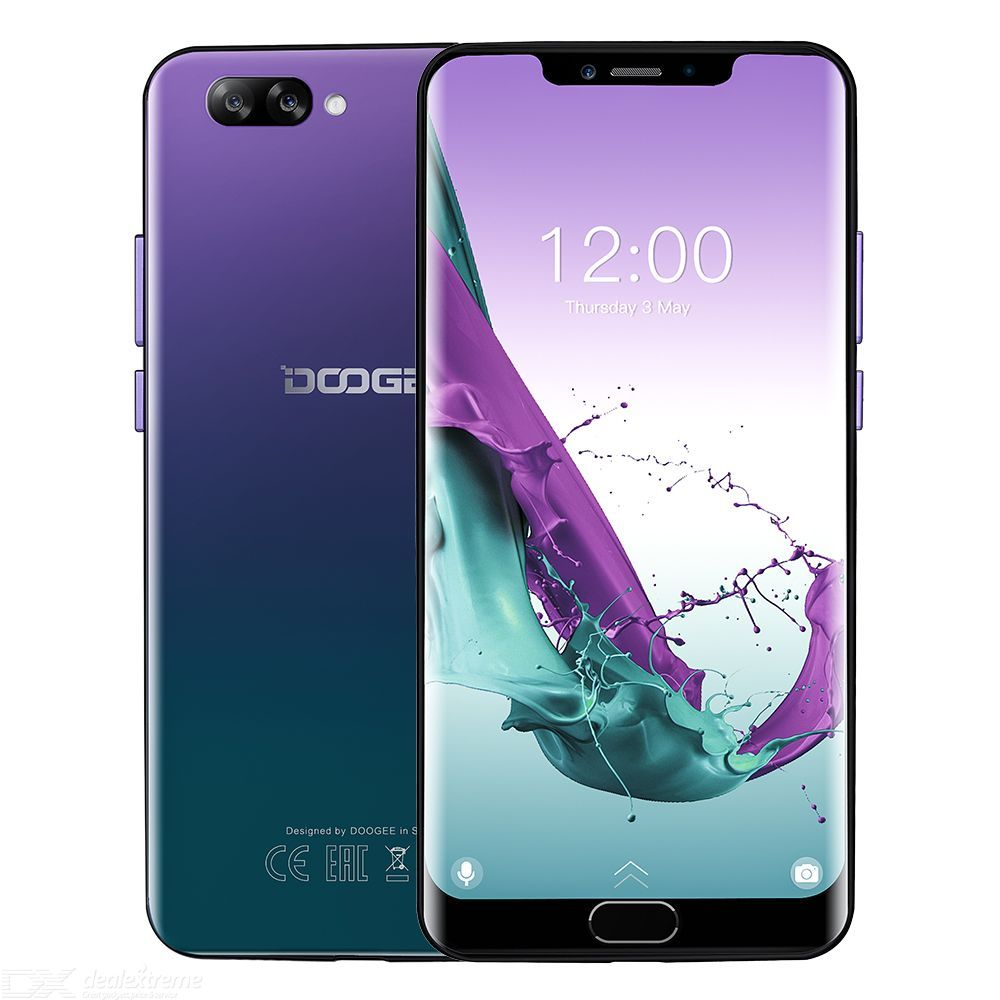 DOOGEE Y7 Plus Octa Core 6GB 64GB MT6757 Android 8.1 Dual SIM 6.2 inch Smartphone with 5080mAh Battery