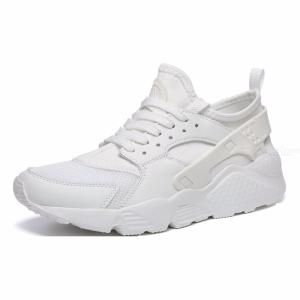 Breathable Mesh Sneakers Lace-up Running Shoes For Women