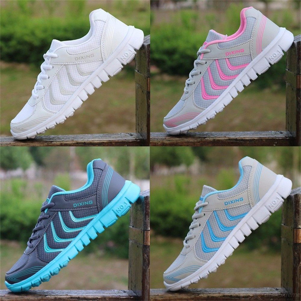 Light Breathable Mesh Sneakers Non Slip Running Shoes For Women