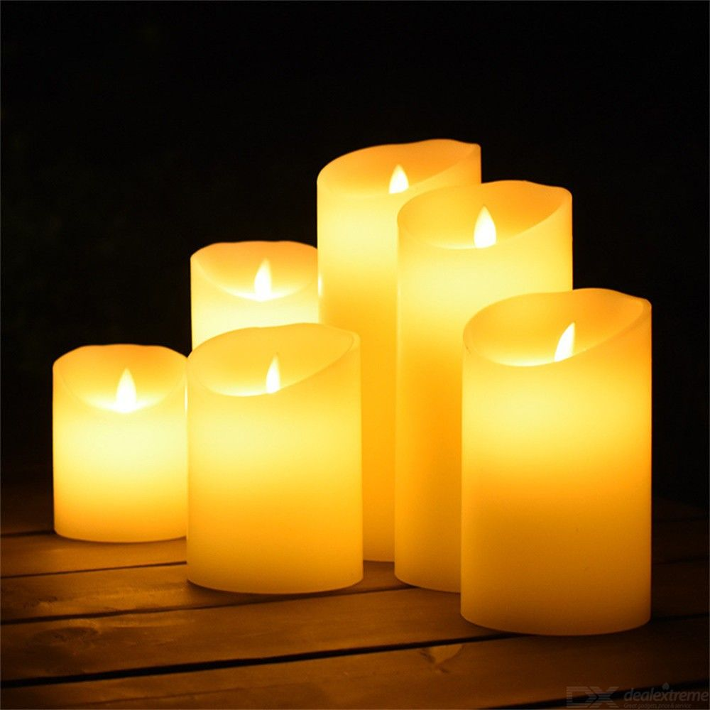 LED Candle Romantic Flameless Candle Bulk For Loved One