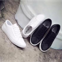 Breathable-Flat-Casual-Board-Shoes-With-PU-Leather-Upper-For-Women