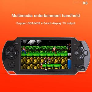 4.3 Inch Screen Game Console Handheld Game Player 8G Storage Multi Language 0.3MP Camera MP3 MP4 Support 32G​