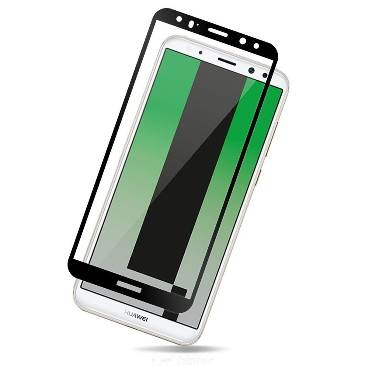 230db36558a973 ... Naxtop Full Screen Protector Tempered Glass for Huawei Mate 10 Lite ...