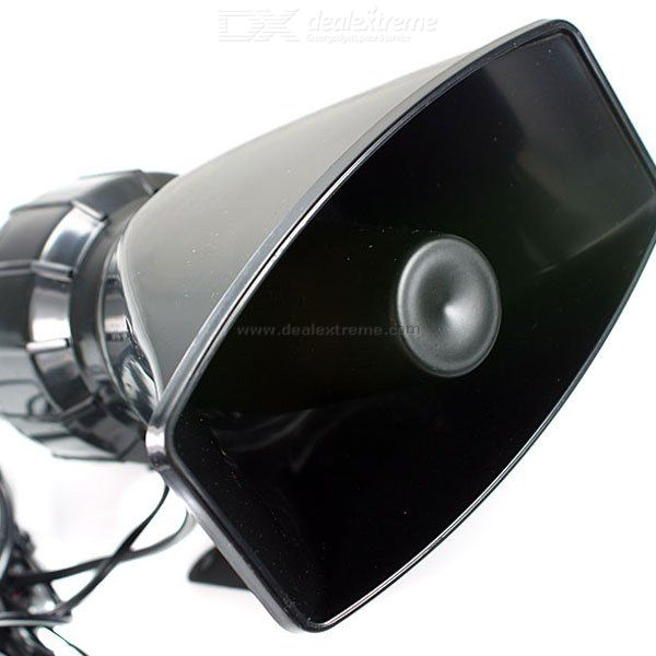 60W Mini Vehicle Bull Horn Loud Speaker and Siren System