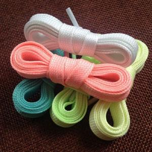 2Pcs Sport Luminous Shoelace Athletic Flat Shoe Laces Glow In The Dark Night Color Fluorescent Shoelaces