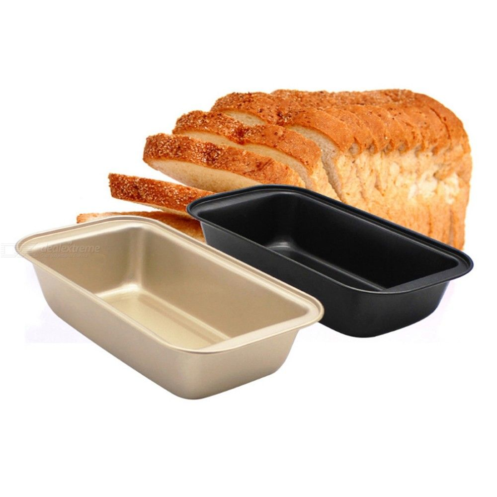 New Non Stick Loaf Pan Toast Bread Pot Cake Baking Mold Kitchen Meatloaf Bakeware Carbon Steel Mold