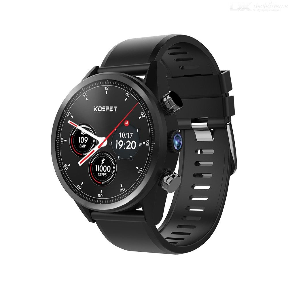 KOSPET Hope 4G Smart Watch Android 7.1 Bluetooth 1.39 Inch Touch Screen 3GB+ 32GB IP67 Waterproof MT6739 8.0MP Phone