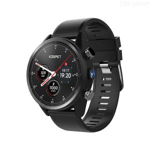 KOSPET Hoffen 4G Intelligente Uhr Android 7.1 Bluetooth 1,39 Zoll Touch Screen 3GB + 32GB IP67 Wasserdichtes MT6739 8.0MP Telefon