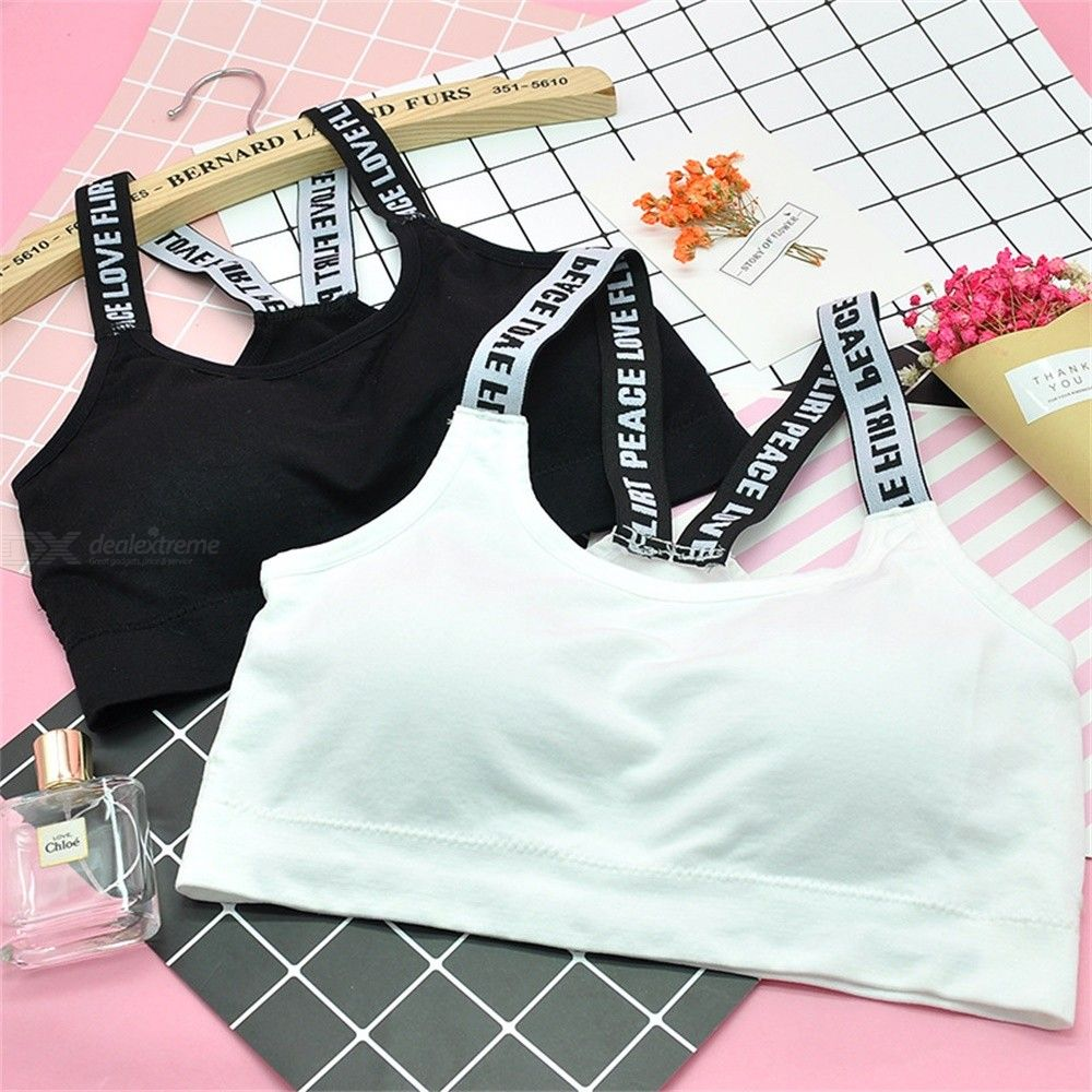Woman Underwear Daily Seamless Sling Bras Shockproof Wrapped Chest Quick Dry Sport Bra