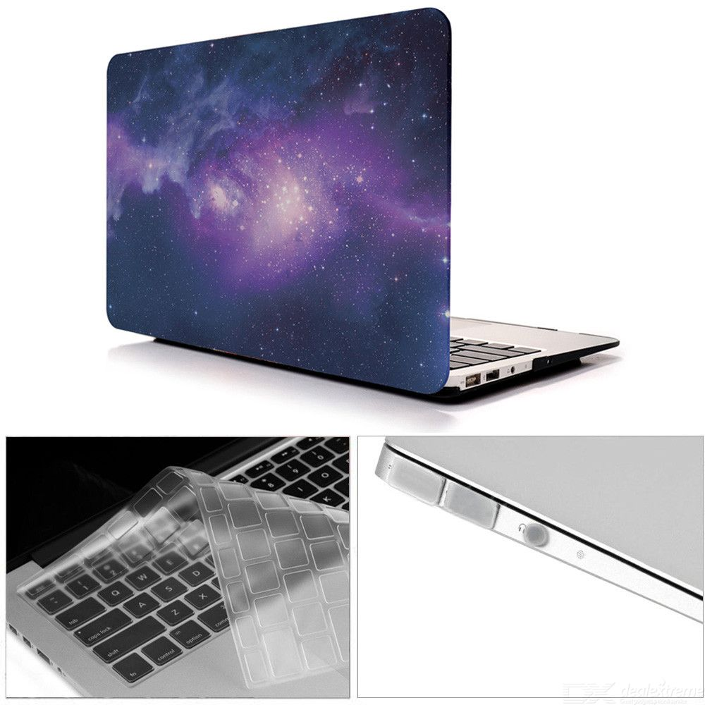Dayspirit-3-in-1-133-inch-Printing-Case-2b-Keyboard-Cover-2b-Anti-dust-Plugs-for-MACBOOK-Air