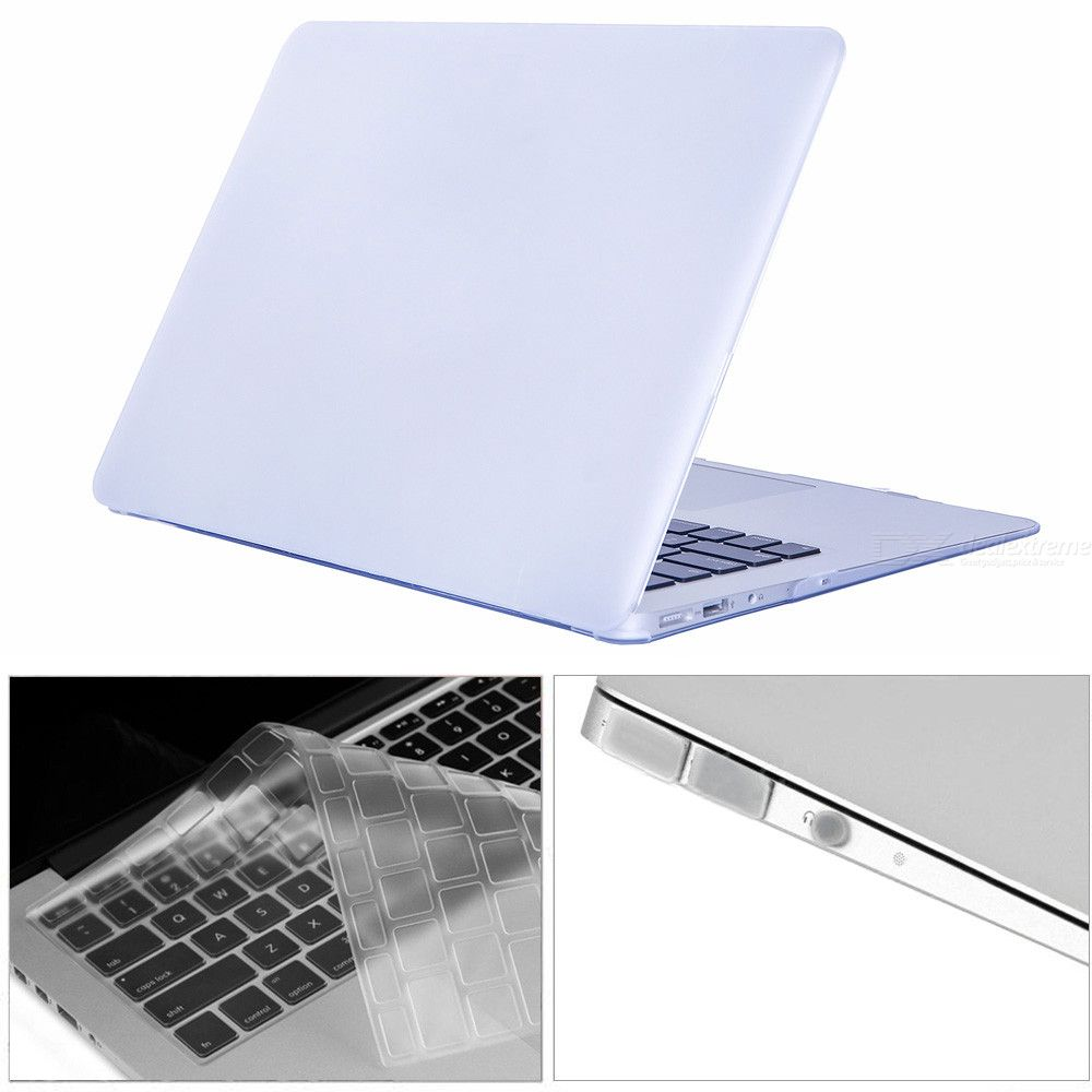 Dayspirit-3-in-1-133-inch-Matte-Case-2b-Keyboard-Cover-2b-Anti-dust-Plugs-for-MACBOOK-Air