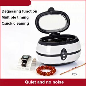 Mini Portable Ultrasonic Cleaner Glasses Jewelry Watch Cleaning Machine Washing Device