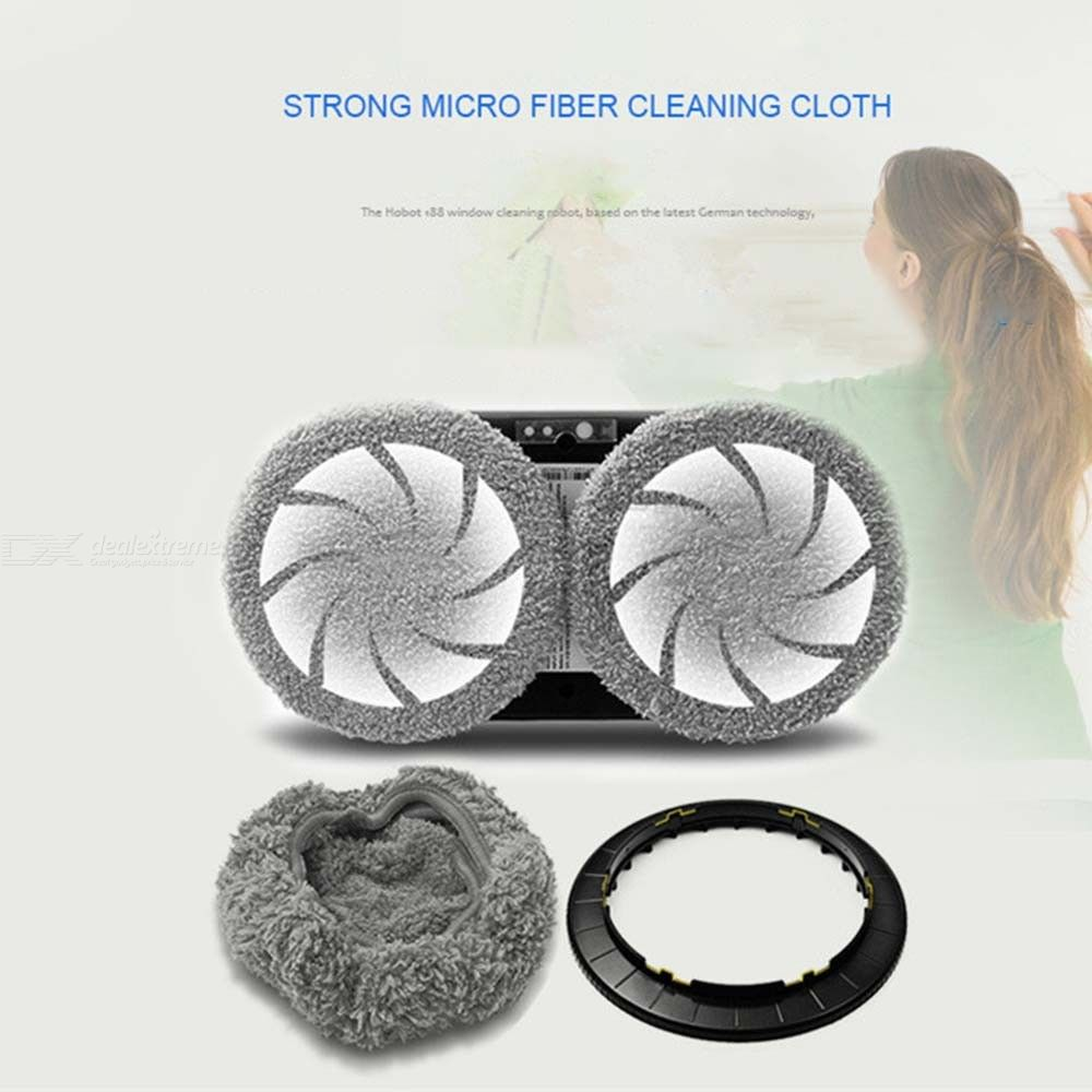 Window Cleaning Robot High Suction Cleaner Robot Anti-falling Remote Control Electric Vacuum Cleaner