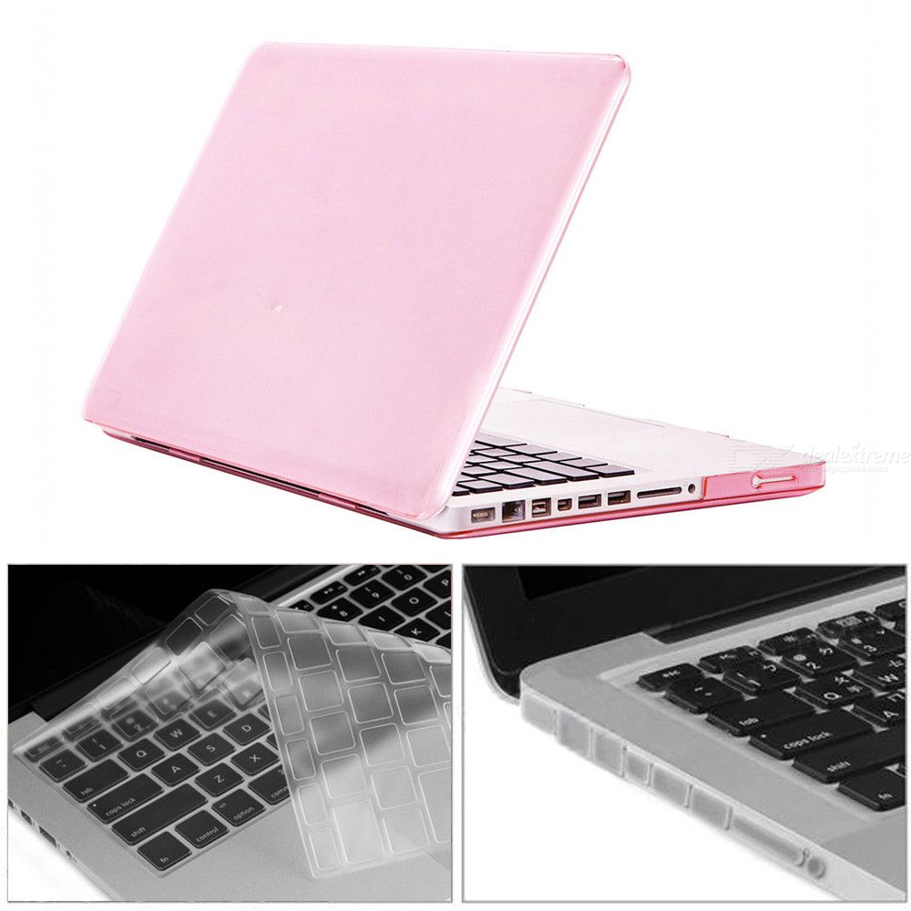 3-in-1-154-inch-Crystal-Case-2b-Keyboard-Cover-2b-Anti-dust-Plugs-with-CD-ROM-for-MacBook-Pro