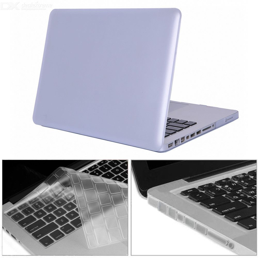 3-in-1-133-inch-Matte-Case-2b-Keyboard-Cover-2b-Anti-dust-Plugs-with-CD-ROM-for-MacBook-Pro