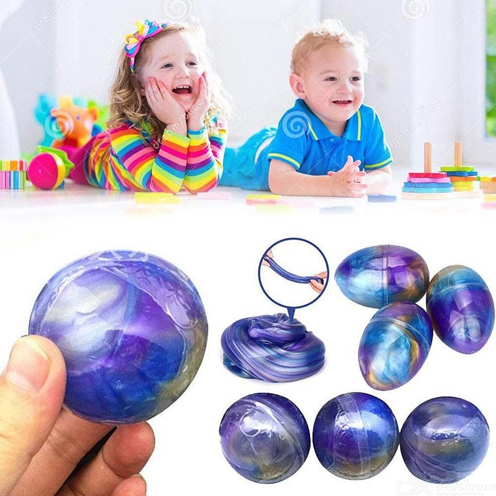Star Slime Anti-stress Clay Crystal Egg Plasticine Fluffy Slime Foam Balls Clay Safe Non-toxic Polymer Mud Toys