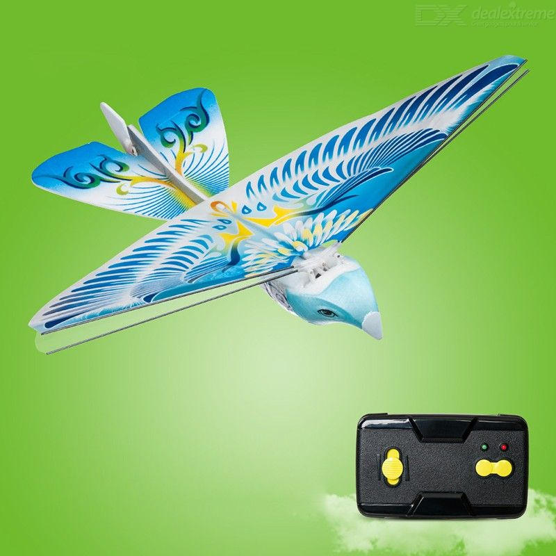Remote Control Toy RC Flying Bird Plane Flapping Wing Flight Model 2.4GHz Drone Kids Gifts