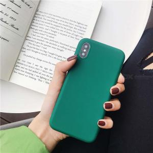 Matte Protective Case Soft TPU Phone Cover For IPHONE 7 8 7/8 PLUS XS XS MAX XR