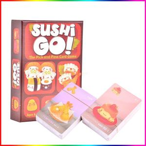 Sushi Go/Party Board Game For Family/Party/Gift Best Gift Funny Card Game Entertainment