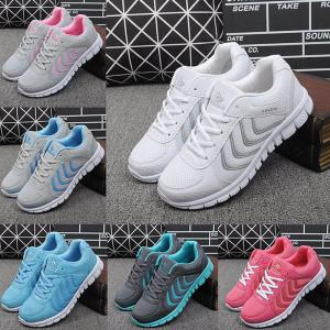 Light Casual Running Shoes Breathable Mesh Sneakers For Women