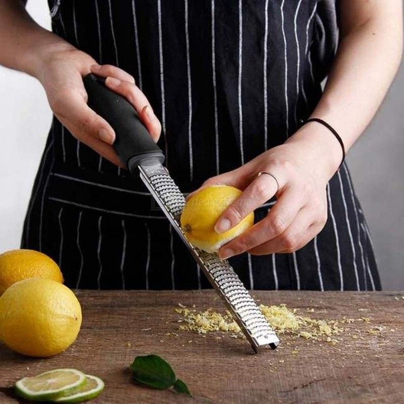 Stainless Steel Premium Lemon Zester Multi-purpose Shaver Grater Spice Cheese Graters Slicer
