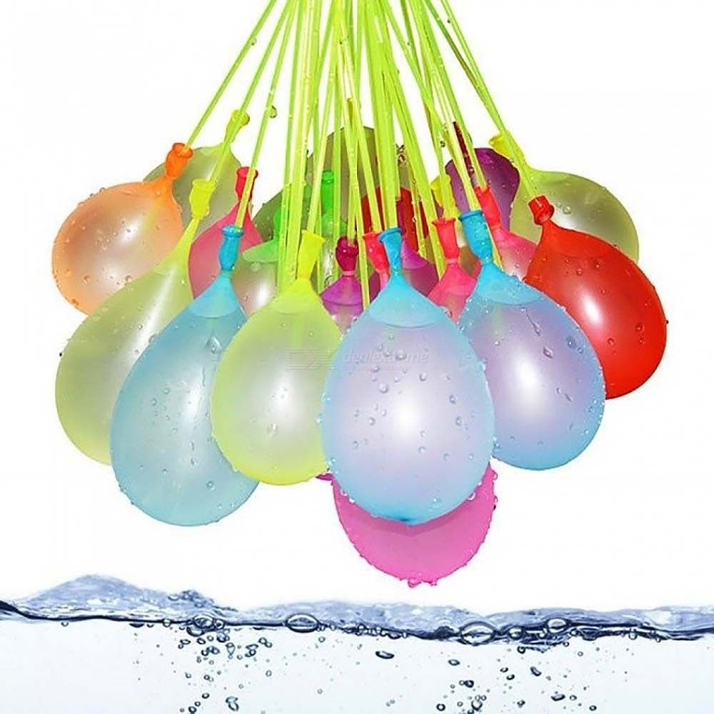111Pcs/Bag Filling Water Balloons Funny Summer Outdoor Toy Bunch Water Balloons Bombs Novelty Toys For Children