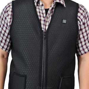 Outdoor USB Infrared Heating Vest Jacket Winter Flexible Electric Thermal Clothing Waistcoat For Sports Hiking