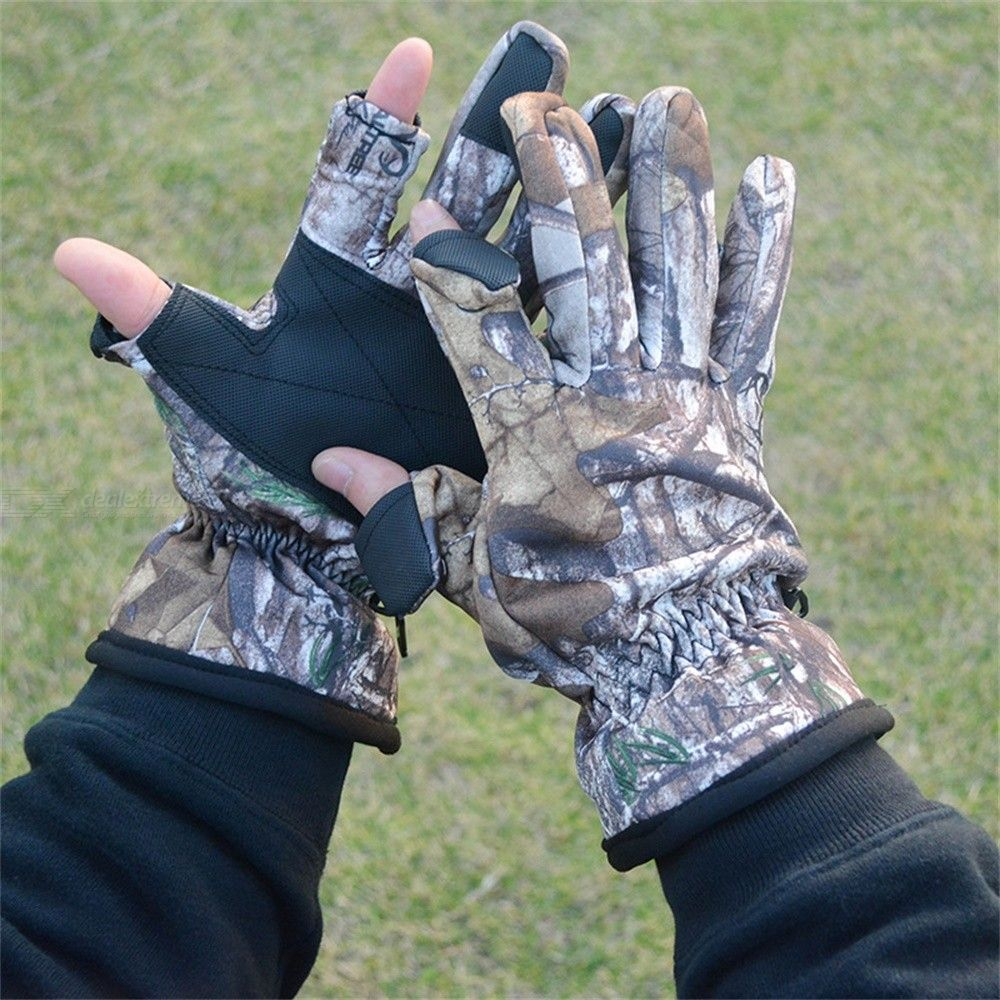 Camouflage | Military | Outdoor | Glove | Army | Full